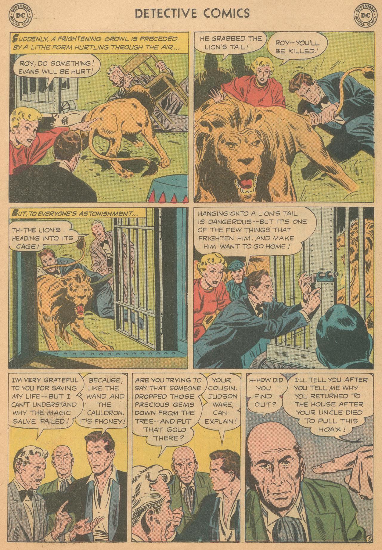 Read online Detective Comics (1937) comic -  Issue #261 - 22