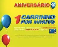 """Promoção Carrefour - """"1 Carrinho por minuto"""""""
