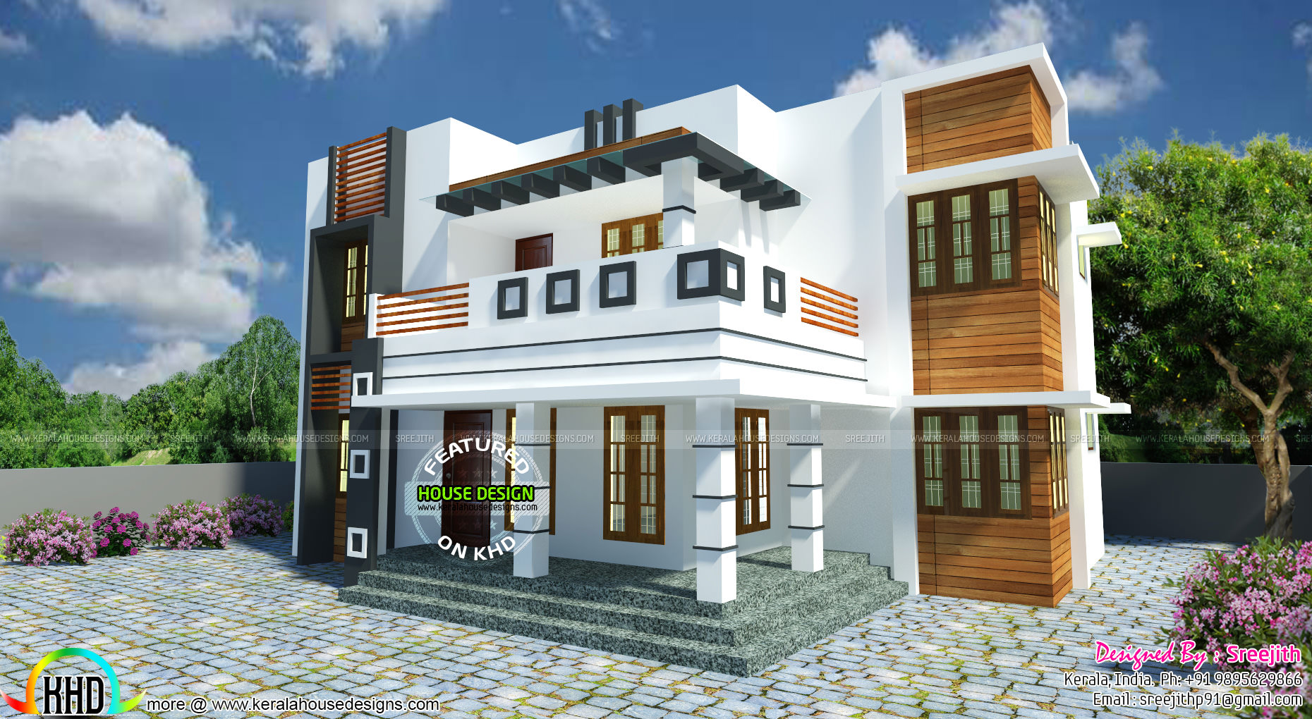 Vastu Shastra Based Modern Home Architecture Kerala Home