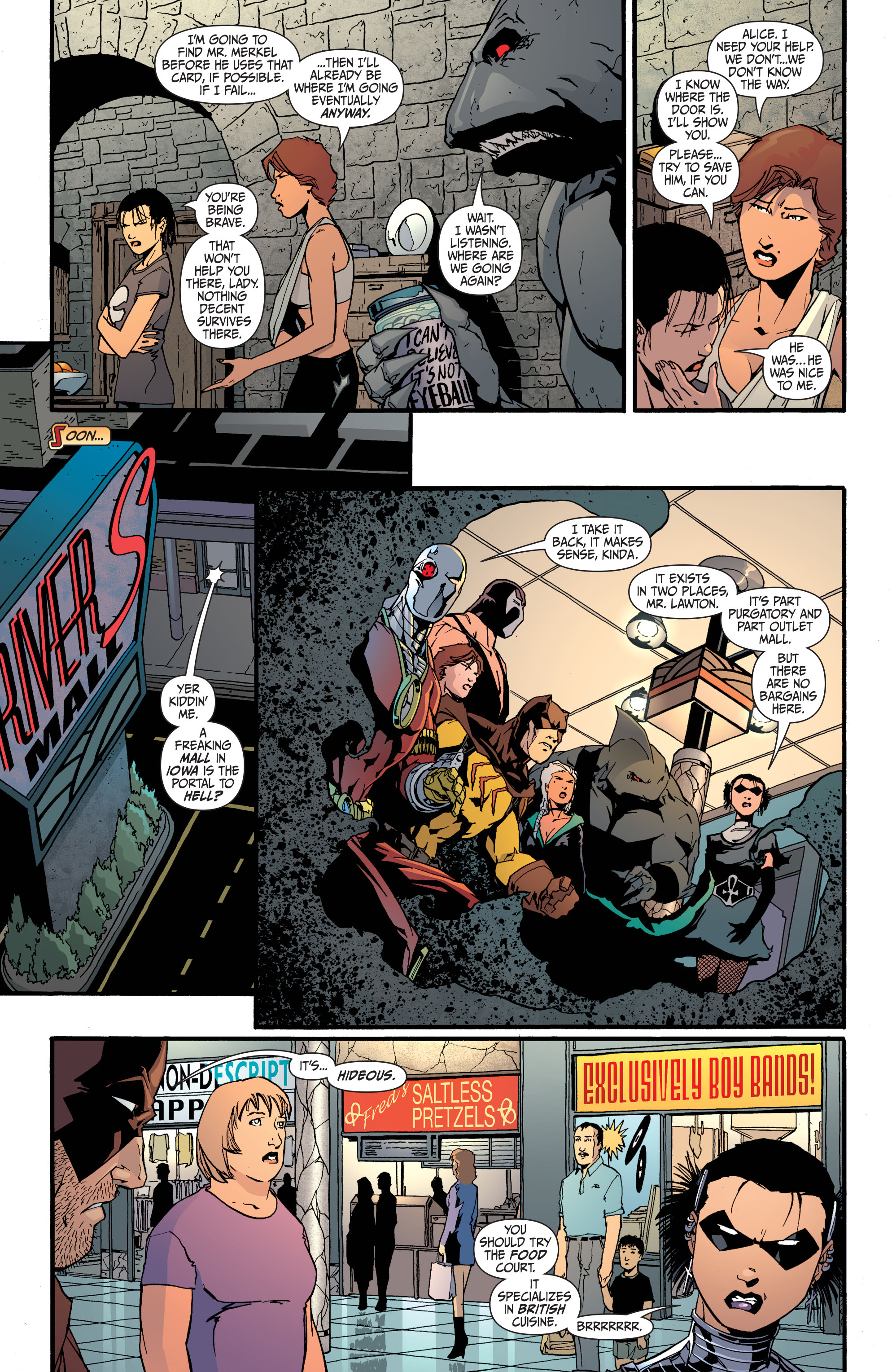 Read online Secret Six (2008) comic -  Issue #31 - 20