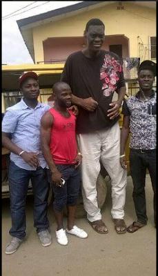 Tallest Man In Lagos