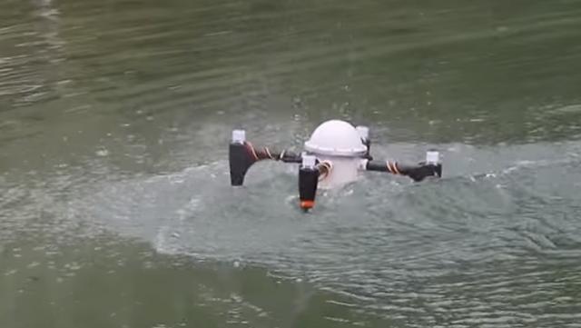 Il Drone che può rimanere nascosto in acqua per mesi | Video | HTNovo