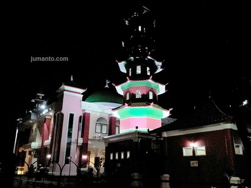 menara masjid muhammad cheng ho palembang