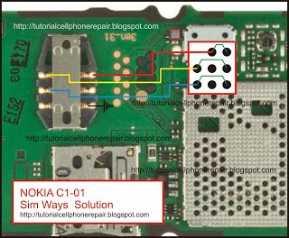 Nokia C101 Sim IC Jumpers Ways With Diagram Help | gsmfixer