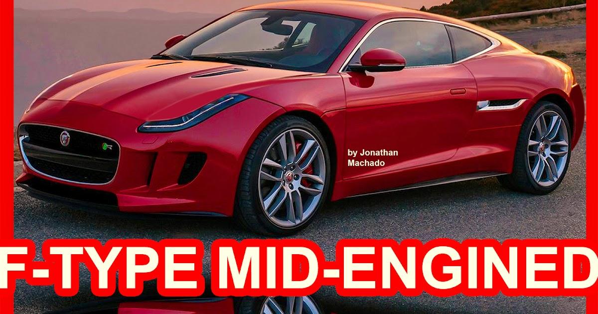 2018 Jaguar F Type >> CARWP: PHOTOSHOP New 2018 Jaguar F-Type Mid-engined # ...