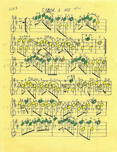 Miss Jacobson\'s Music: SABOR A MI