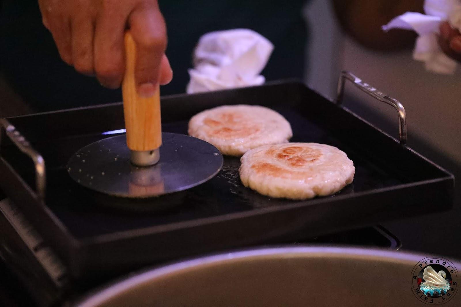 Hotteok, pancakes coréens au caramel