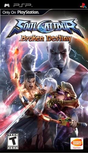 Soulcalibur Broken Destiny PSP Oyun