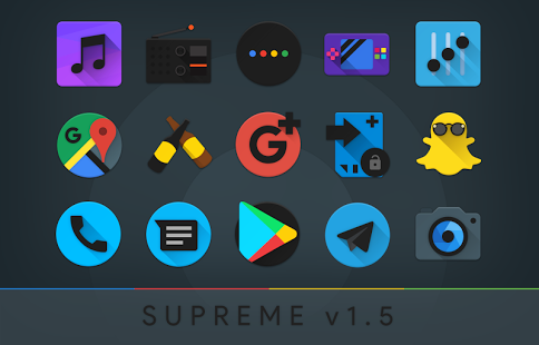 Supreme Icon Pack v9.4 [Patched] [Latest]