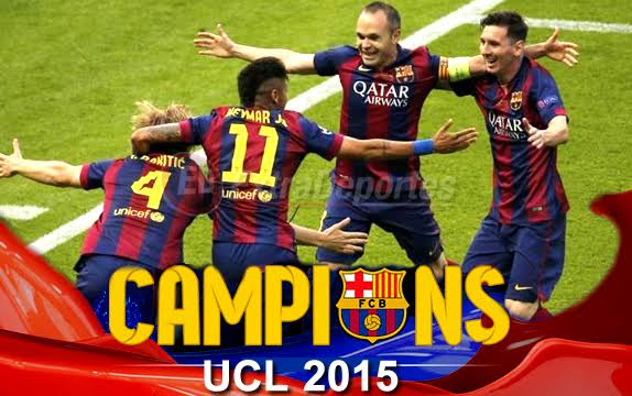 Barcelona Campeón Champions 2015