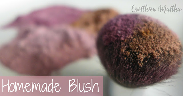 DIY Blush takes seconds to make and can save lots of money