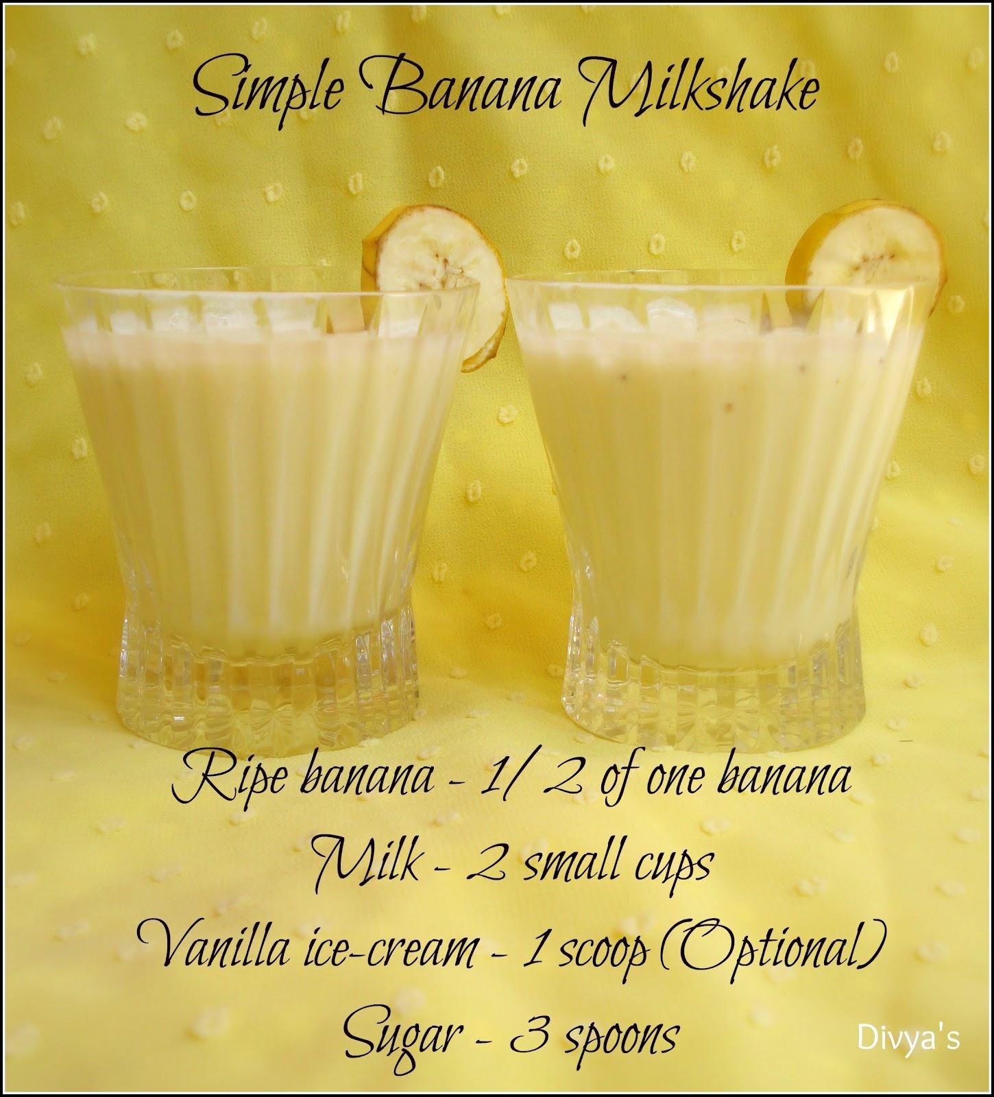 How to Make a Banana Milkshake How to Make a Banana Milkshake new picture