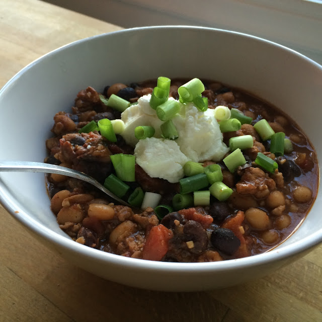 turkey chili 21 day fix