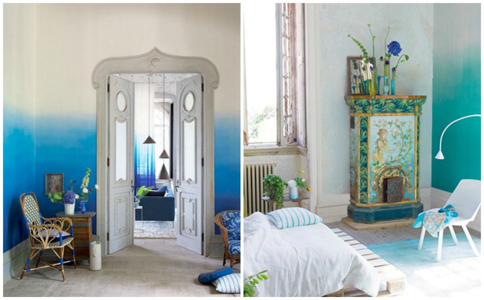 The Bougie Life Design Trend OMBRE WALLS