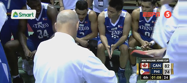 Canada def. Ateneo Blue Eagles, 86-78 (REPLAY VIDEO) Jones Cup 2018