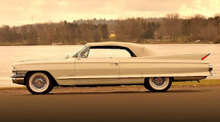 1961 Cadillac DeVille Convertible Side