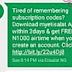 Get N1000 Free Airtime From Etisalat When You Download MyEtisalat App