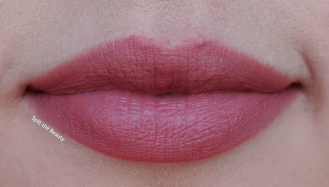 quo luxury lipstick wardrobe review swatches fig creme raspberry red orchid