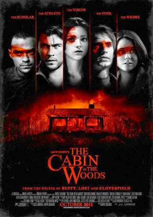 The Cabin in The Woods 2012 BluRay 650Mb English 720p Watch Online Full Movie Download bolly4u