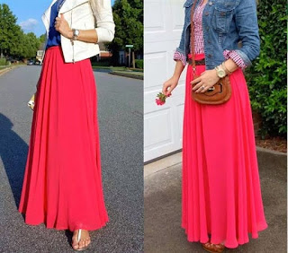 rok wanita terbaru