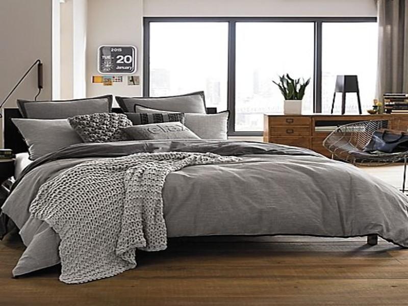 cama gris