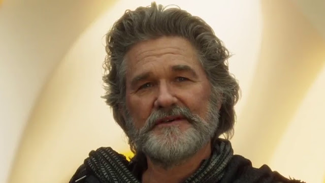 Kurt Russell est le papa de Chris Pratt dans Les Gardiens de la galaxie 2. Quelle chance.