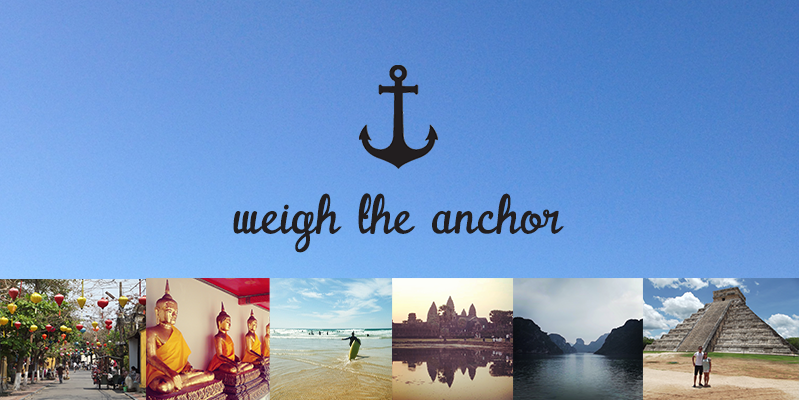 Weigh The Anchor