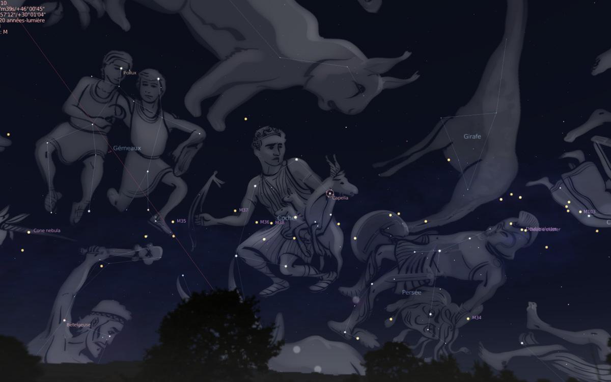 Dibujando las estrellas