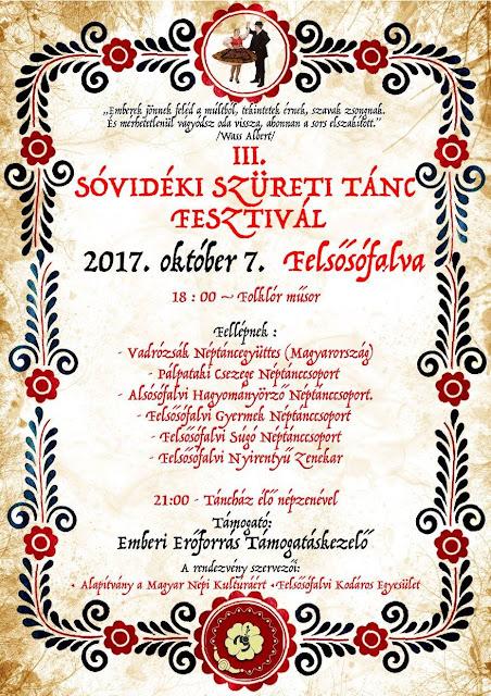III. Sóvidéki Szüreti Tánc Fesztivál