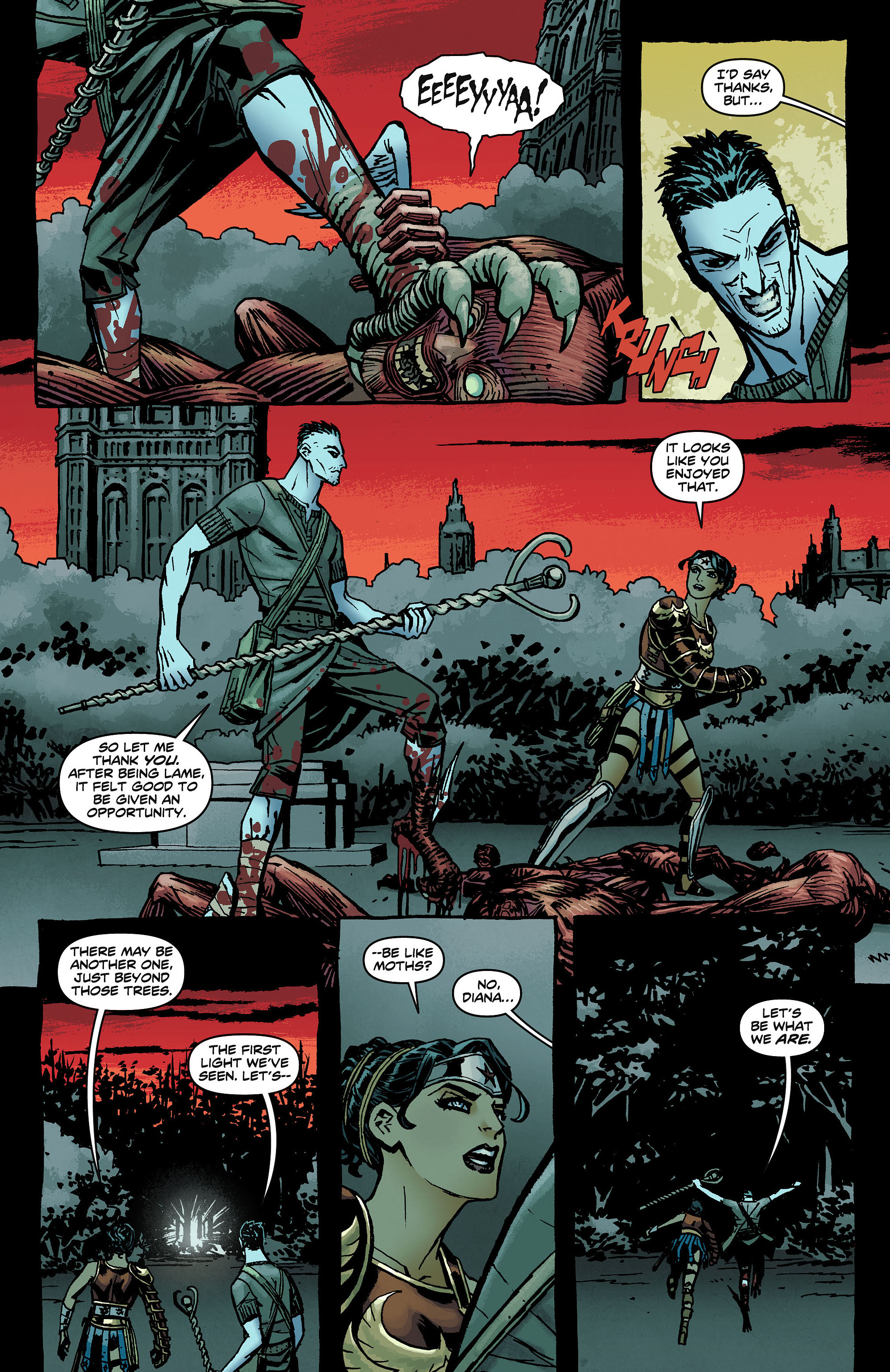 Read online Wonder Woman (2011) comic -  Issue #8 - 14