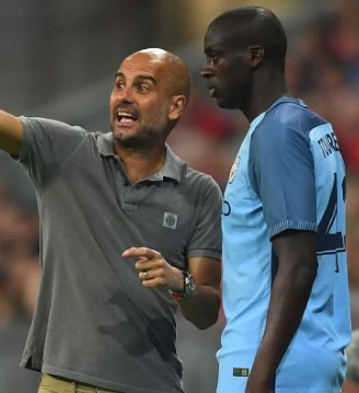 Pep Guardiola racist coach