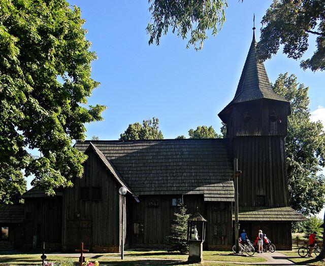kościół, Chlastawa, drewno, zwiedzanie
