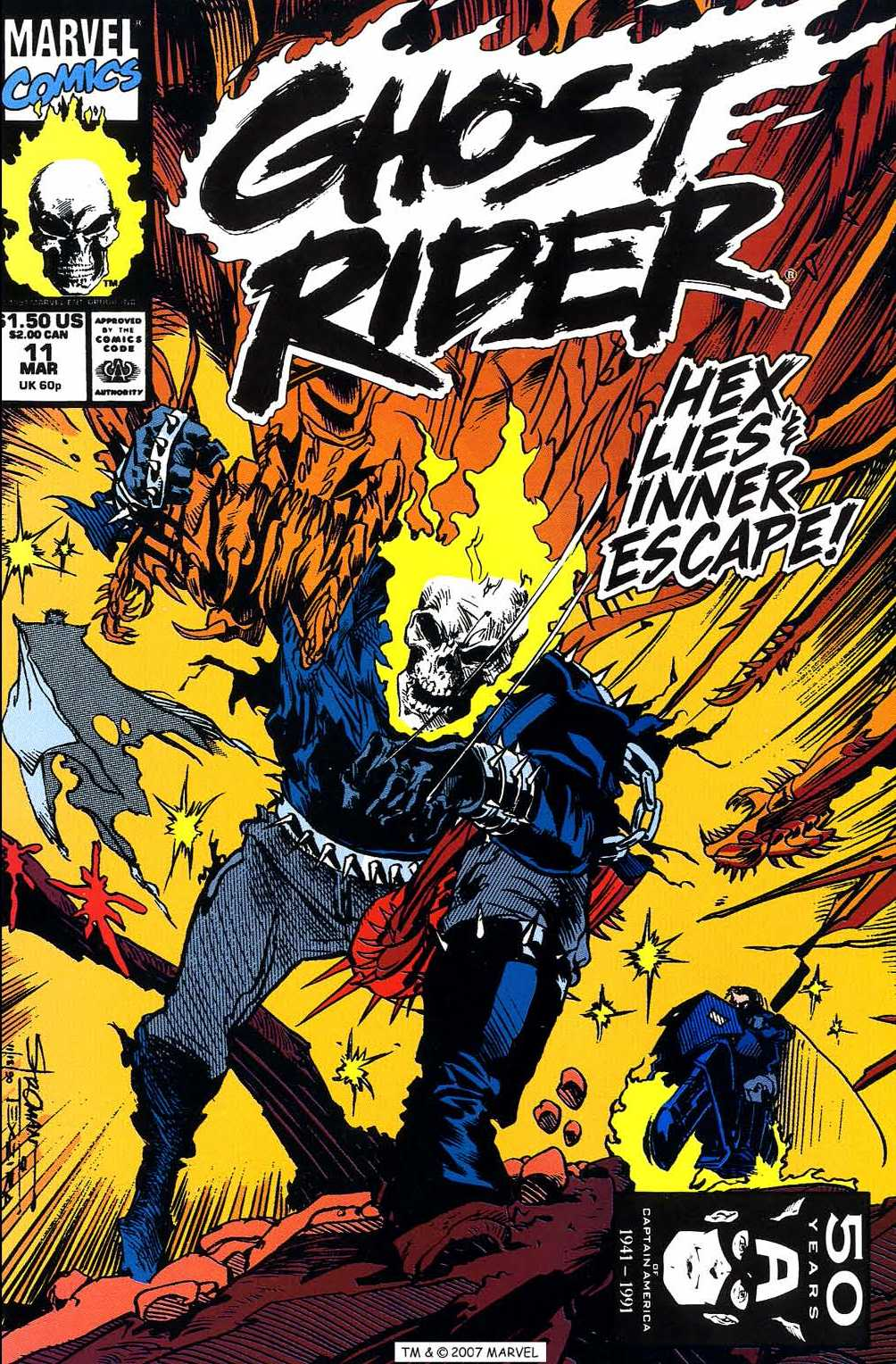 Ghost Rider (1990) 11 Page 1
