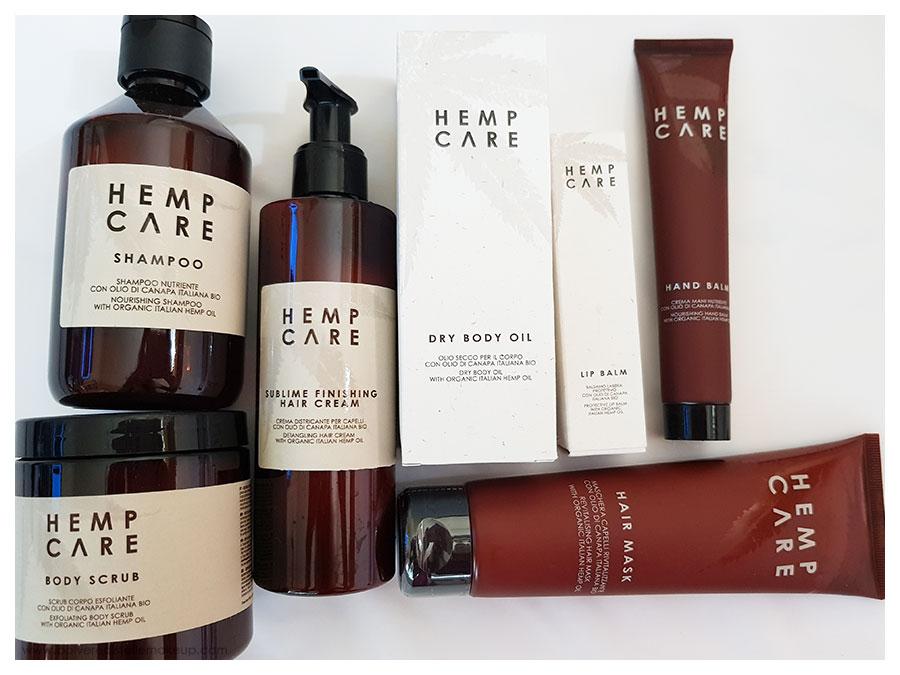 Hemp Care prodotti Olio di Canapa