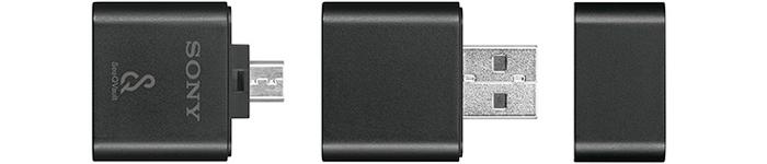ソニー「MRW-BS1」は、SeeQVault対応microSDカードリーダー