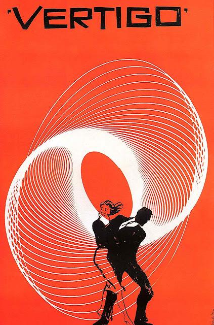 Saul Bass Vertigo poster