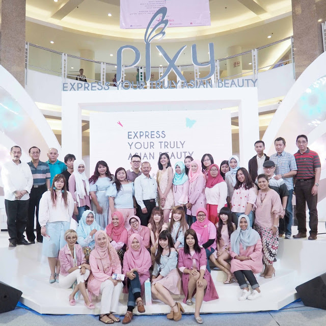 Event Report : PIXY Express Your Truly Asian Beauty at Surabaya by Jessica Alicia