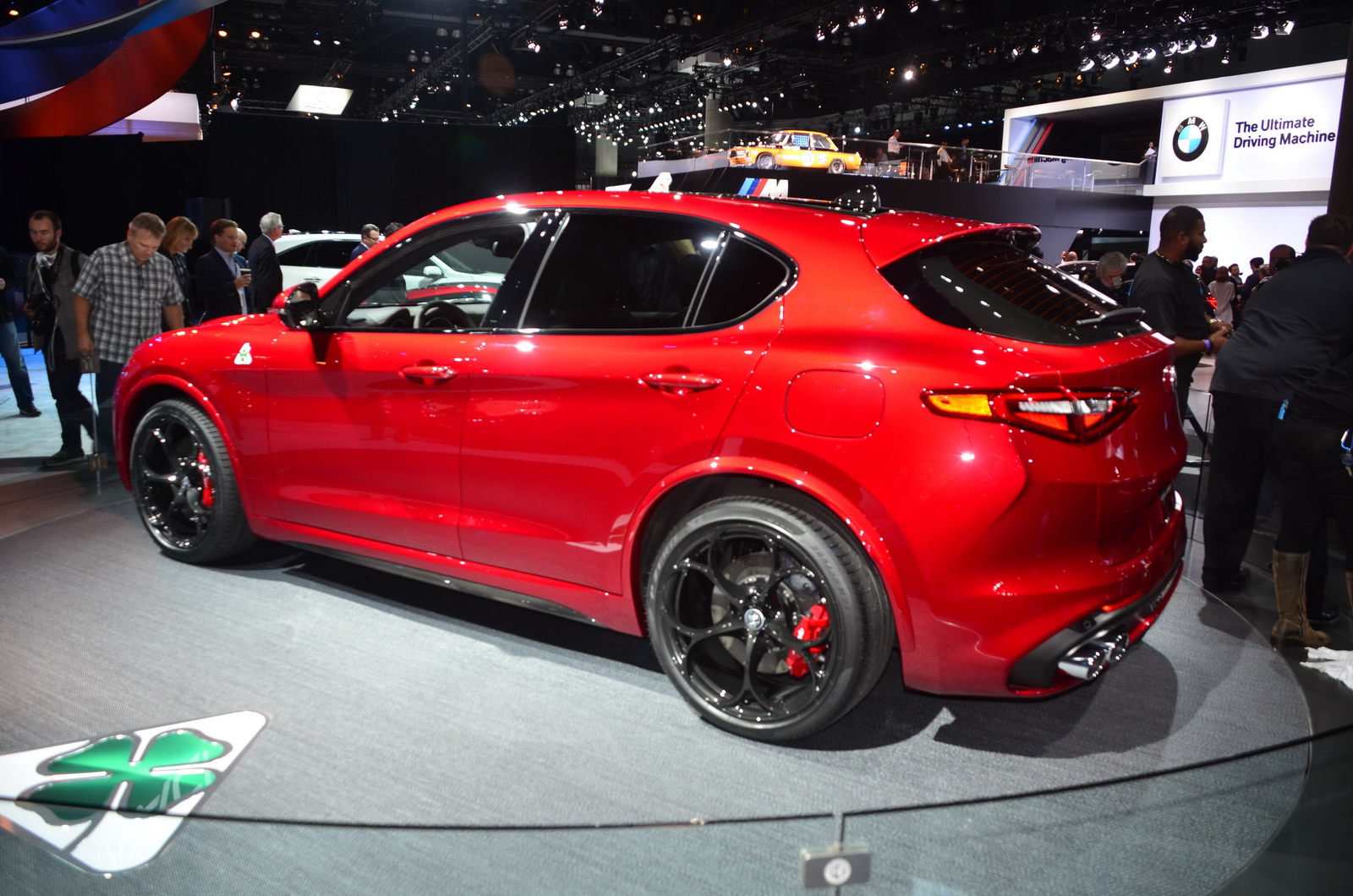 Alfa Romeo Stelvio Qv Promises To Be Faster Than A Cayenne