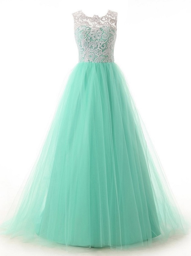 https://www.dresstells.com/elegant-a-line-crew-neck-floor-length-mint-prom-homecoming-dress-with-lace.html