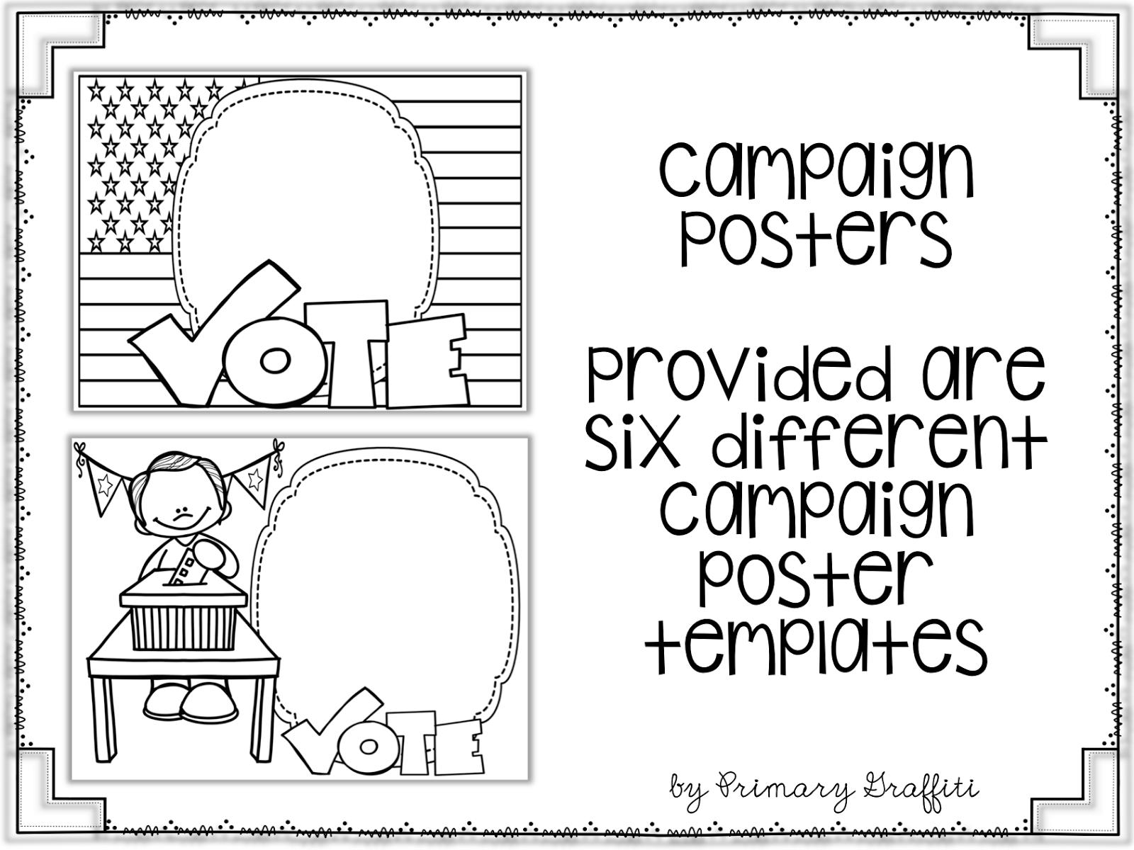 Primary Graffiti: Duck for President {Election Book Companion}
