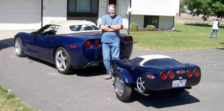 Although These Car Trailers Are Very Cool Is Design They Re Way Too Small To Be Of Any Use And Tow Behind A Much More Suited The Motorbikes