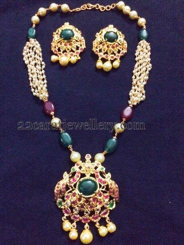 Pendant Sets 1500 To 3000 Price Range Jewellery Designs