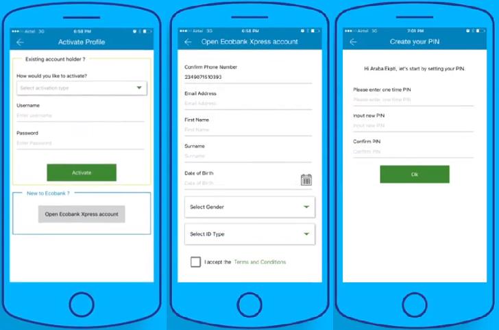 Ecobank Xpress Mobile Banking App Kenya