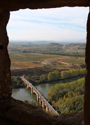 Vistas desde el castillo de San Vicente de la Sonsierra