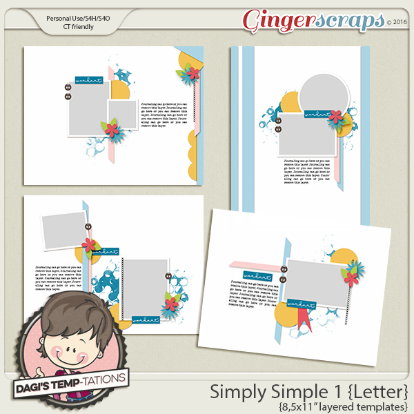 Dagi 39 s temp tations new release simply simple 1 for Simply simple
