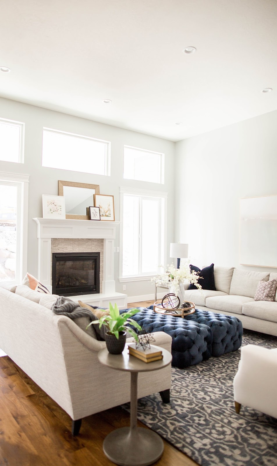 Mecham Dream Home || Living Room Reveal
