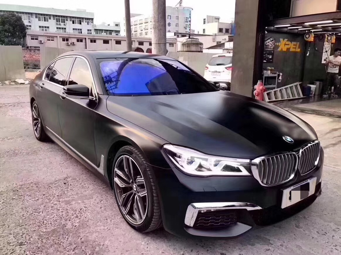 LCK Car accessories: M760i Style Body Kit For BMW New Series 7