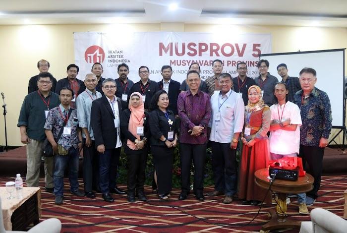 Gubernur Ridho Ajak Arsitek Lampung Dukung Pengembangan Infastruktur