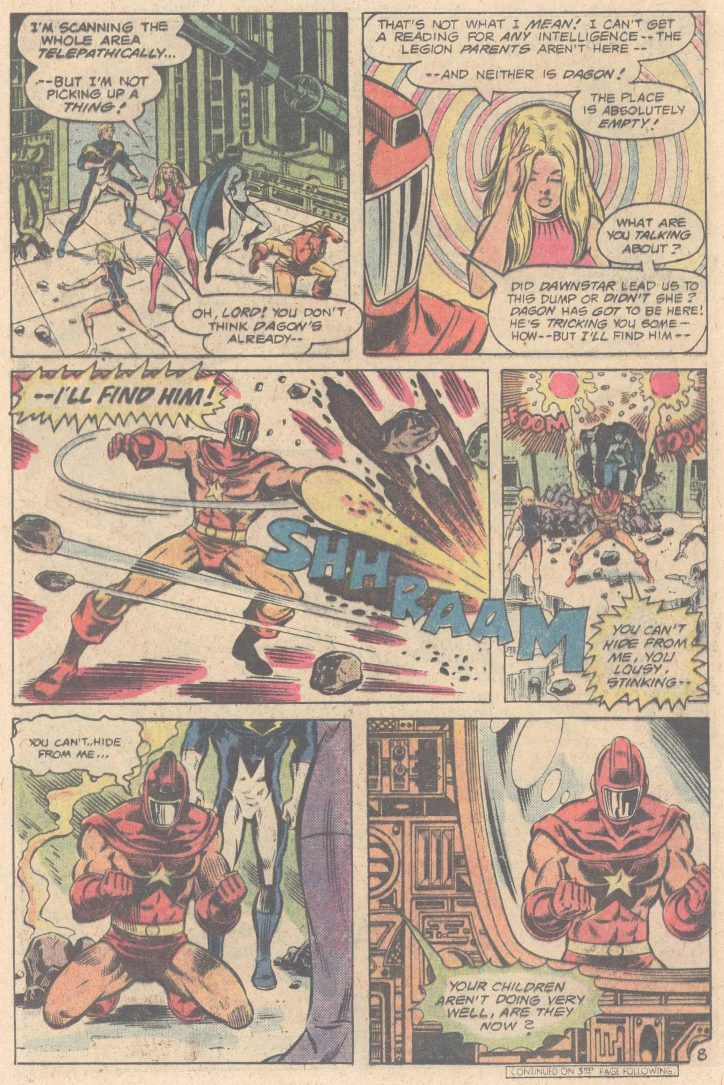 Legion of Super-Heroes (1980) 264 Page 11