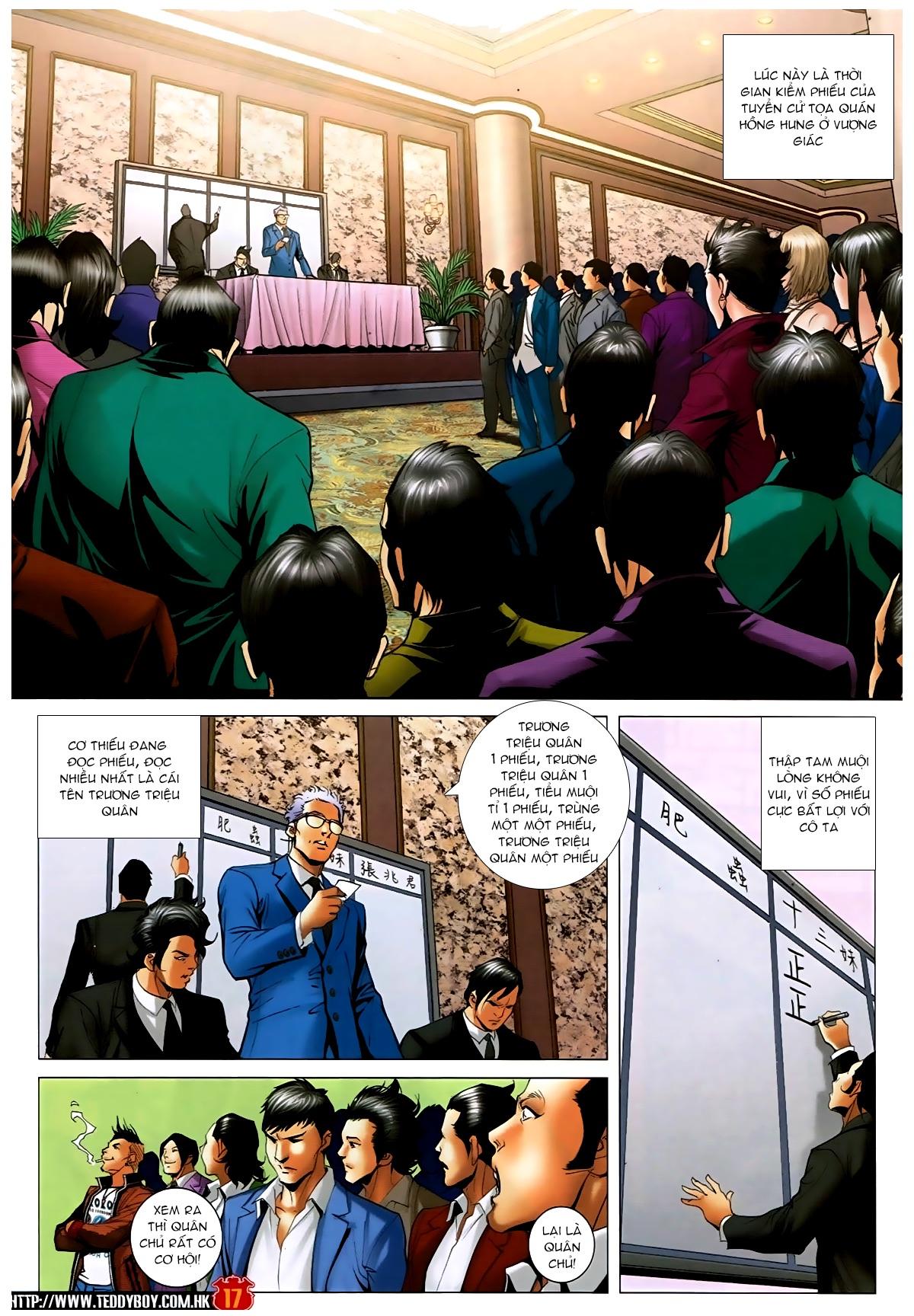 Người Trong Giang Hồ - Chapter 1593: Tọa quán Vượng Giác - Pic 16